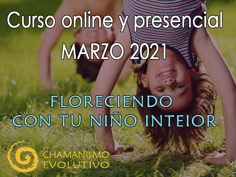 Floreciendo con tu niño interior. Instituto de Chamanismo Evolutivo®