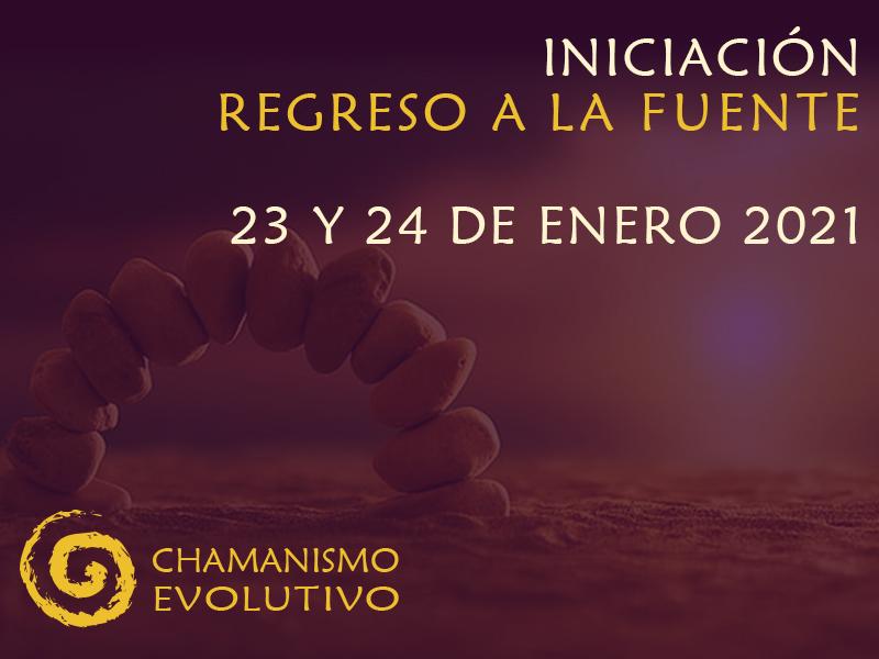 Iniciación al chamanismo evolutivo, regreso a la fuente. Instituto de Chamanismo Evolutivo®