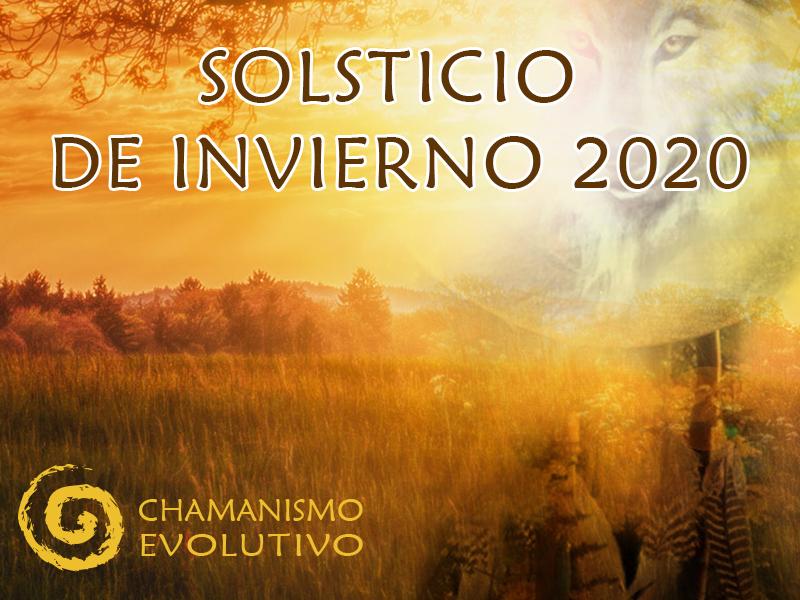Celebración del solsticio de invierno 2020. Instituto de Chamanismo Evolutivo®